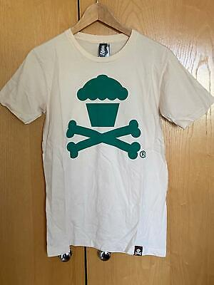 £7.99 • Buy Johnny Cupcakes - Limited Edition Green Crossbones Print T-Shirt