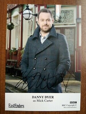 £10.99 • Buy DANNY DYER *Mick Carter* EASTENDERS HAND SIGNED AUTOGRAPH CAST CARD FREE POST