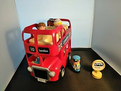 £9 • Buy ELC HAPPYLAND LONDON BUS & 5 FIGURES Can Combine Postage With Other Happyland