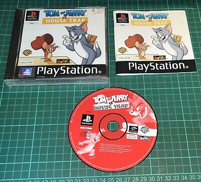 £12.99 • Buy Tom And Jerry House Trap For Sony Playstation 1, PS1,  With Manual