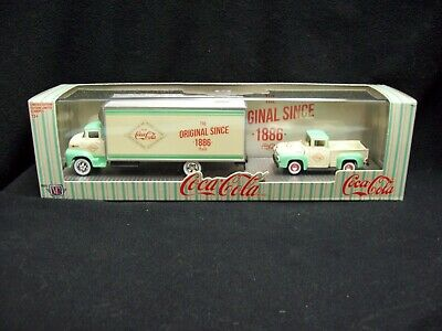 AU1.67 • Buy M2 Machines Auto Haulers Coke Ford 1956 COE & 1956 Ford F-100 Limited Edition.