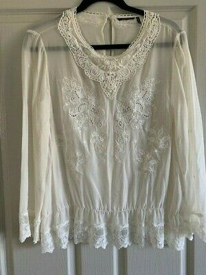 AU30 • Buy Massimo Dutti Ladies Lace Top New Without Tag Designed In Spain