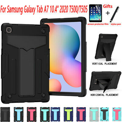 AU22.99 • Buy Tablet Case For Samsung Galaxy Tab A7 10.4  2020 Hybrid Rubber Shockproof Cover