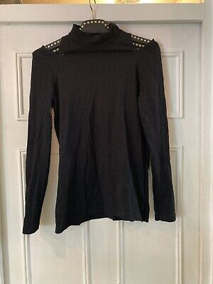 £1.20 • Buy Womens Next Essential Size 10 High Neck Cut Out Shoulder Top Long Sleeved