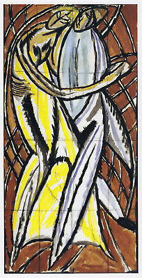 £21.95 • Buy Dancing Couple Vanessa Bell Print In 11 X 14 Mount Ready To Frame SUPERB