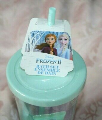 £4.95 • Buy Disney Frozen Plastic Cup With Straw New Gift Idea Holiday Gift Toy
