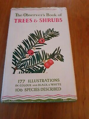 £4.95 • Buy The Observers Book Of Trees And Shrubs.