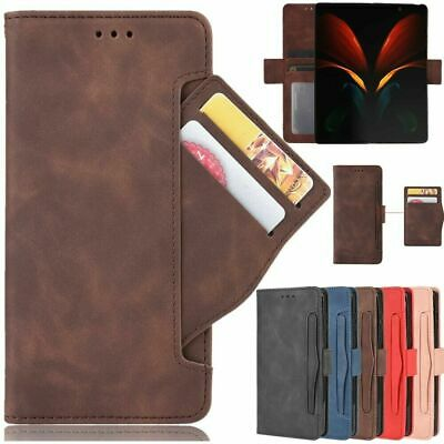 AU18.99 • Buy For Samsung Galaxy Z Fold 2 5G Luxury Flip Leather Wallet Card Protective Case