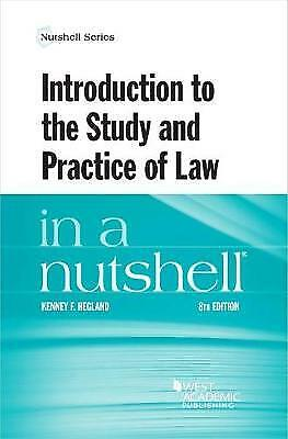 £42.35 • Buy Introduction To The Study And Practice Of Law In A Nutshell Nutshell Series, Ken