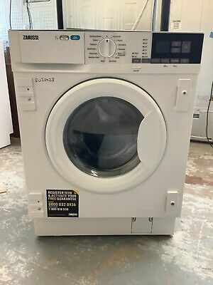£410 • Buy Zanussi Z716WT83BI Integrated 7Kg/4Kg Washer Dryer A Rated UK DELIVERY #RW25028
