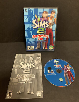 £18.11 • Buy Sims 2 Apartment Life Expansion Pack PC CD-ROM 2008 Complete Disc Manual Case