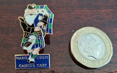 £0.01 • Buy Marie Curie Cancer Care Scottish Piper Pin Badge