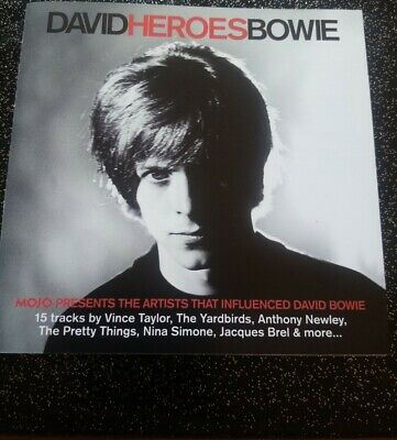 £0.99 • Buy David Heroes Bowie  (free With Mojo Magazine)  Cd