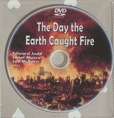 £2 • Buy THE DAY THE EARTH CAUGHT FIRE - DVD (1961) Edward Judd, Janet Munro, Leo McKern