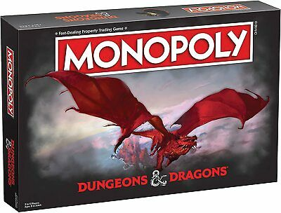 AU61.57 • Buy Monopoly Dungeons & Dragons Edition Board Game