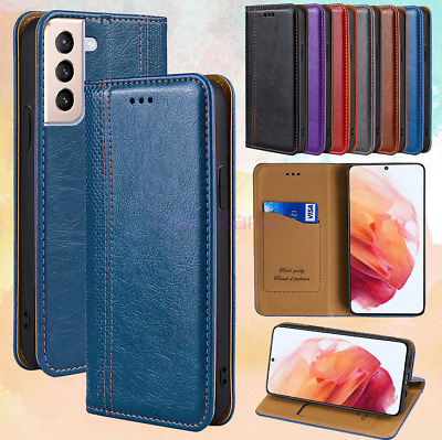 AU11.56 • Buy For OPPO R9S R11S F1S PU Leather Magnetic Flip Wallet Card Case Cover