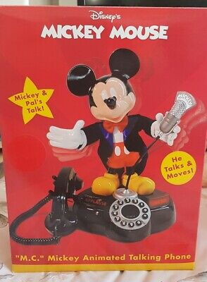 £149.99 • Buy Rare Vintage Collectors Disney Telemania Mickey Mouse Animated Talking Phone