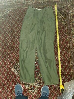 $126.99 • Buy Vintage M-1951 Trouser Shell Field Woolus Army - Military Pants