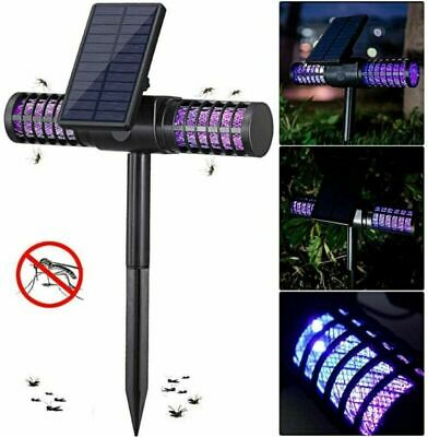 £23.99 • Buy Bug Zapper Buzz Killer UV Lamp Repellent Light Fly Insect Mosquito Powered Solar