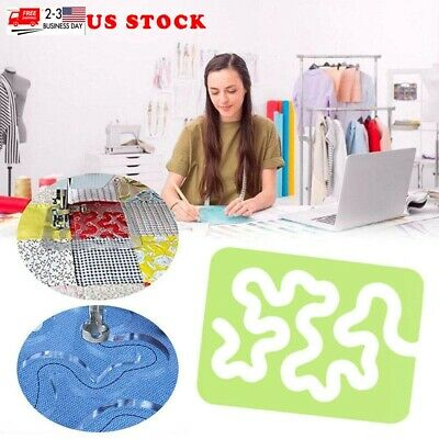 $7.86 • Buy Quilting Patchworks Templates Acrylic Rulers Home Sewing Quilting Machine US