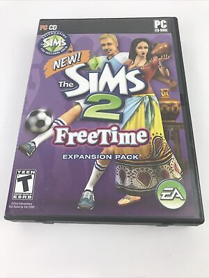 £12.34 • Buy The Sims 2 Freetime PC Game Windows Complete 2008 Expansion Pack