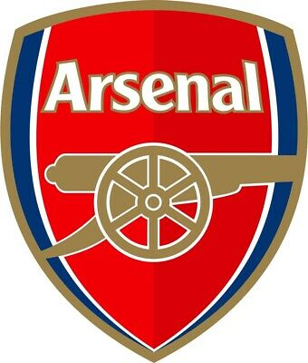 £3.99 • Buy Set Of 3 Arsenal Football Club Crest Iron On Patches For Fabric Material