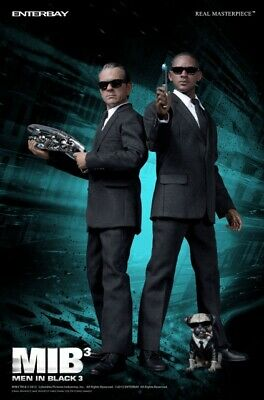 $950 • Buy Hot! Enterbay Toys Men In Black 3 1/6 Agent K J With Frank The Pug SET Brand NEW