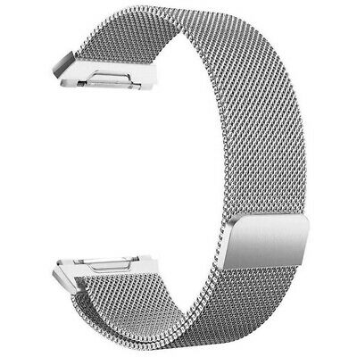 AU7.99 • Buy For Fitbit Ionic Bands Large Replacement Magnetic Loop Strap Stainless SteelQ6X1