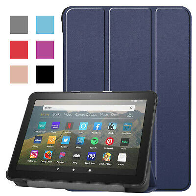 AU16.66 • Buy For Amazon Kindle Fire HD 8 Plus 2020 10th Gen Smart Leather Stand Case Cover