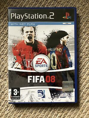 £2.50 • Buy FIFA 08 (PS2) PEGI 3+ Sport: Football Soccer - Free Postage - Manual Included