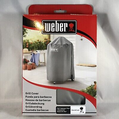 $ CDN27.03 • Buy Weber Gray Grill Cover #7175 - 18  - For Kettle Style Grills - New In Box