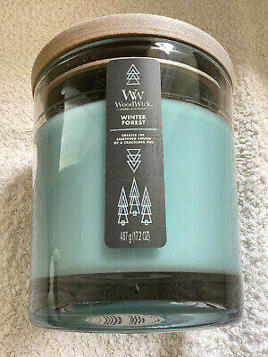 £19.95 • Buy Yankee Candle Woodwick Large 2 Wick Tumbler 'Winter Forest'