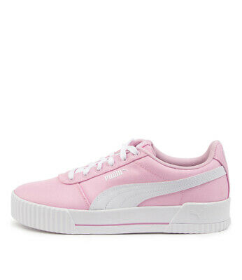 AU100 • Buy New Puma Carina Cv Pink White Womens Shoes Casual Sneakers Casual