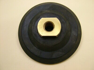 £9.30 • Buy Backing Pad 100mm For Diamond Polishing Pads Rubber, Brass Fittings, M14 Thread
