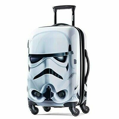 View Details Star Wars Stormtrooper Hardside Spinner Luggage Suitcase American Tourist • 239.99$
