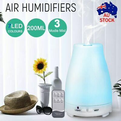 AU16.59 • Buy Essential Oil Humidifier Ultrasonic Air Diffuser Aroma Aromatherapy Air Purifier