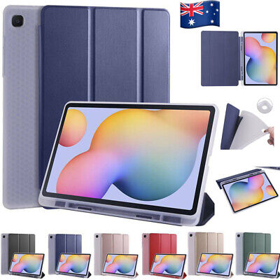 AU19.79 • Buy For Samsung Galaxy Tab S6 Lite P610 Shockproof Smart Case Cover With Pen Holder