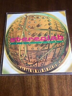 £12.99 • Buy Stereolab, Ping Pong/ Moogie Wonderland 7  Vinyl In Picture Sleeve, 1994 VGC