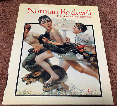 $ CDN64.20 • Buy Norman Rockwell 332 Magazine Covers-Coffee Table Book Second Artabras Edition