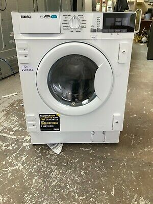 £420 • Buy Zanussi Z816WT85BI Integrated 8Kg/4Kg Washer Dryer 1600 Rpm E Rated #RW25330