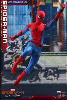 $ CDN482.88 • Buy Figure Hot Toys Spider Man Far From Home 1/6 Movie Promo Edition
