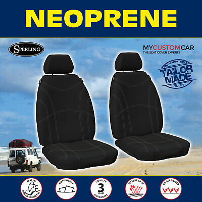 AU164.90 • Buy Ford Ranger PX,PX2,PX3 2011-On Neoprene FRONT Custom Car Seat Covers Waterproof