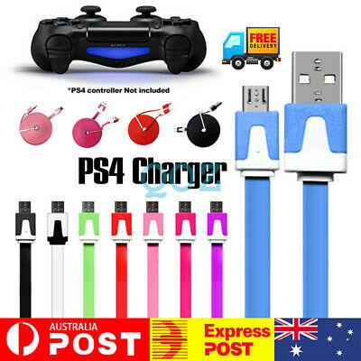 AU5.62 • Buy For PS4 PS5 Controller Charging Cable 2.8M Charger Cord Data Sync USB Power