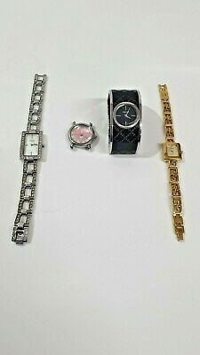 £19.99 • Buy 4 Ladies Watches - D & G / DKNY / SEKONDA / SEIKO - ALL GENUINE UNTESTED SPARES