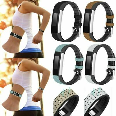 $ CDN19.88 • Buy New Leather + TPU Band Bracelet Wrist Strap  For Fitbit Charge HR/Alta HR