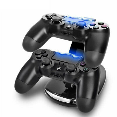 AU12.99 • Buy Dual Stand  Charger Dock Charging Station Pads For Playstation4 PS4 Controller