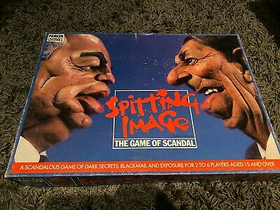 £4.99 • Buy Vintage 1980s Spitting Image The Board Game Of Scandal By Parker - Complete