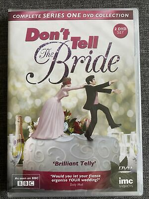 £2.99 • Buy Don't Tell The Bride  Series 1 (2-Disc Set) NEW SEALED DVD