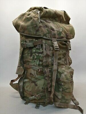 £47.99 • Buy British Army MTP Bergen Rucksack Long Convoluted Frame Expedition Cadet DofE