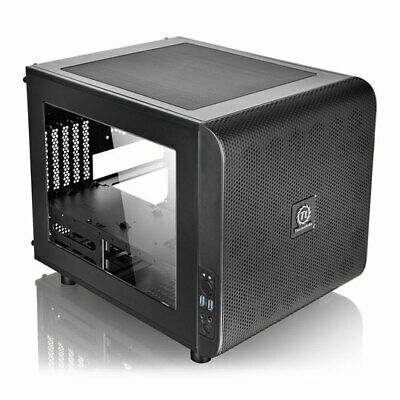 £66.12 • Buy Thermaltake Core V21, Black, Micro-ATX Mesh Stackable Cube PC Chassis /w Window,